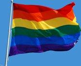Regenboog vlag (LGBT vlag - Gay vlag) - 90x150cm