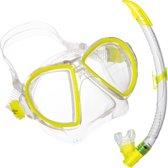 Aqua Lung Sport Duetto LX + Airflex Purge LX - Snorkelset - Volwassenen - Geel