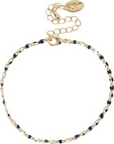 Jozemiek ONE DAY Charity Armband Plated 14K Goud - Blauw