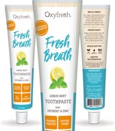 Oxyfresh Tandpasta - Lemon Mint - 150 ml