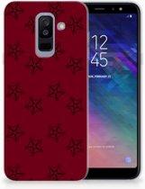 Samsung Galaxy A6 Plus (2018) TPU Siliconen Hoesje Sterren