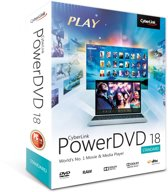 Cyberlink PowerDVD 18 Standard - Engels / Frans - Windows