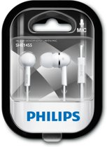 Philips SHE1455WT/10 koptelefoon Intraauraal In-ear Wit