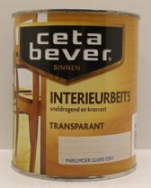 Cetabever Interrieurbeits - Transparant - Acryl - Parelmoer Glans 0501 - 0,75 liter
