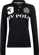 HV Polo Favouritas Eques LS - Polo Shirt - Black - XS