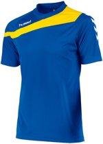 Hummel Elite Voetbal T-shirt - Voetbalshirts  - blauw kobalt - L