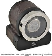 Scatola del Tempo Watchwinder Rotor One HdG Dark Brown d