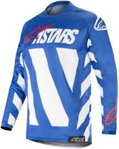 Alpinestars Crossshirt Racer Braap Blue/White/Red-S