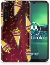 Motorola Moto G8 Plus Siliconen Case Icecream