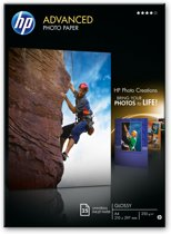 HP Q5456A Advanced - Glossy fotopapier / 250g / A4