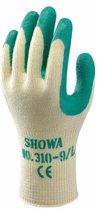 Showa Grip 310 Werkhandschoenen Groen   - Maat S