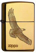 Zippo aansteker Eagle Brass