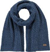 Barts Patina Blue Sjaal  - blauw