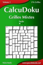 Calcudoku Grilles Mixtes - Facile - Volume 2 - 276 Grilles