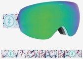 Electric skibril EG3.5 Wit - met Brose Green Chrome lens