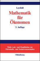 Mathematik F r konomen