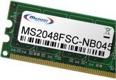 Memory Solution MS2048FSC-NB045 2GB geheugenmodule