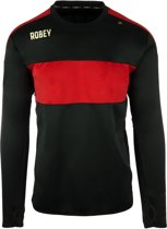 Robey Sweater - Voetbaltrui - Black/Red - Maat XXL