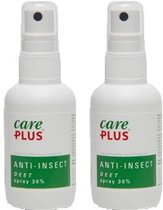 2X Care Plus Deet 30% spray 60ml / Anti muggenspray / Anti insect
