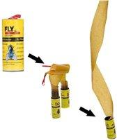 12 Kleefrollen - Vliegenvangers - Anti insecten
