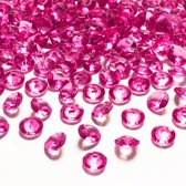 Tafel diamant magenta 12mm