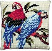 kruissteekkussen 003.105 papegaaien
