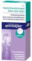Samenwerkende Apothekers - Acetylcysteine 600 mg - Bruistabletten bij vastzittende hoest -10 bruistabletten
