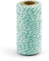 Decoratie touw Turquoise (50 meter)