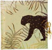 GOLDBUCH GOL-44541 TURNOWSKY dagboek JUNGLE VIBES PANTHER met slot