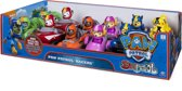Paw Patrol Rescue Racers! Chase, Marshall, Skye, Puin, Zuma en Rocky
