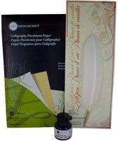 Manuscript Veer, Inkt en Papier Set A040041