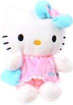 Jemini Hello Kitty Knuffel Doll Pluche Meisjes Lichtblauw 15 Cm
