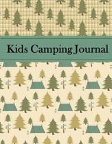 Kids Camping Journal