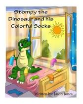 Stompy the Dinosaur and his Colorful Socks