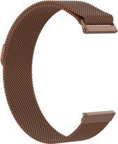 KELERINO. Milanees bandje - Fitbit Versa - Bruin