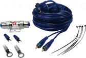 kabelkit / Kabelset 6mm2 voor auto versterker of actieve subwoofer