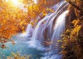 Papermoon Autumn Waterfall Vlies Fotobehang 500x280cm 10-Banen