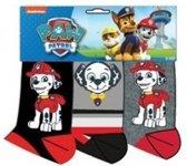 Paw patrol sokken maat 31/34 3 paar zwart