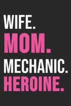 Wife. Women. Mechanic. Heroine.