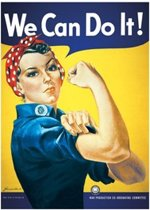 We can Do It-poster- Rosie the Riveter-61x91.5cm.