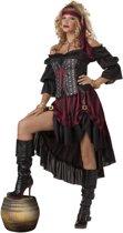 Deluxe piraten outfit voor vrouwen - Volwassenen kostuums