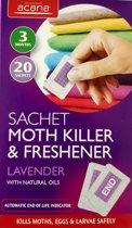IKOOP & PROCLAIMS © 20 zakjes Mottenval met lavendel geur