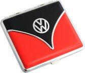 Sigarettenhouder Volkswagen logo - Voor 18 sigaretten - Rood