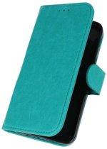 Samsung Galaxy J3 2018 Groen | bookstyle / book case/ wallet case Wallet Case Hoesje  | WN™