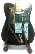 Miniatuur Gitaar - Jimi Hendrix - Voodoo Child