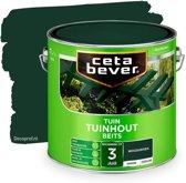 Cetabever Dekkend Tuinhout Beits - Woud groen - 2,5L