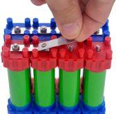 Vruzend DIY batterijset voor maximaal 52 18650 cellen