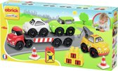 Vrachtwagen Met Oplegger Abrick