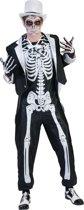 """""""Chique skeletten kostuum voor mannen Halloween  - Verkleedkleding - XL"""""""