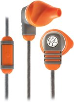 Yurbuds Venture Talk - In-Ear Sport Oordopjes universele mic/remote - Burnt oranje